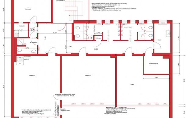 Umbau / Sanierung / Umnutzung Kindertagesstätte, Köln