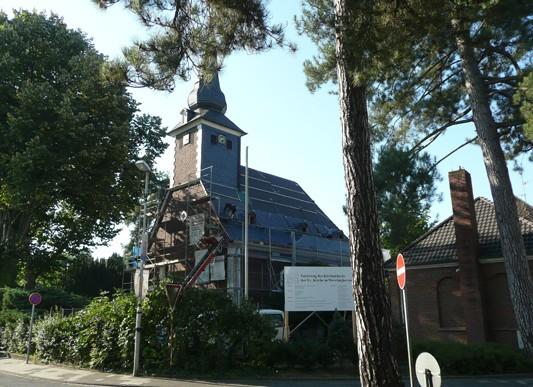Sanierung evangelische Kirche, Neuss