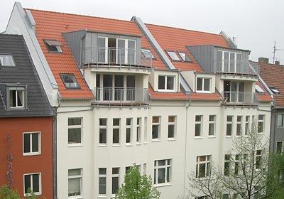 Dachaufstockung, Köln Südstadt