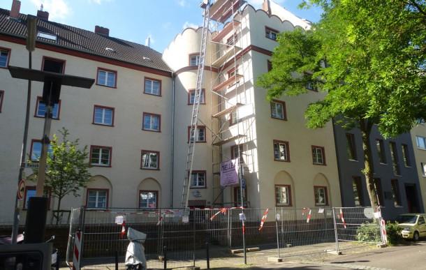 Dachgeschossausbau Reischplatz, Köln