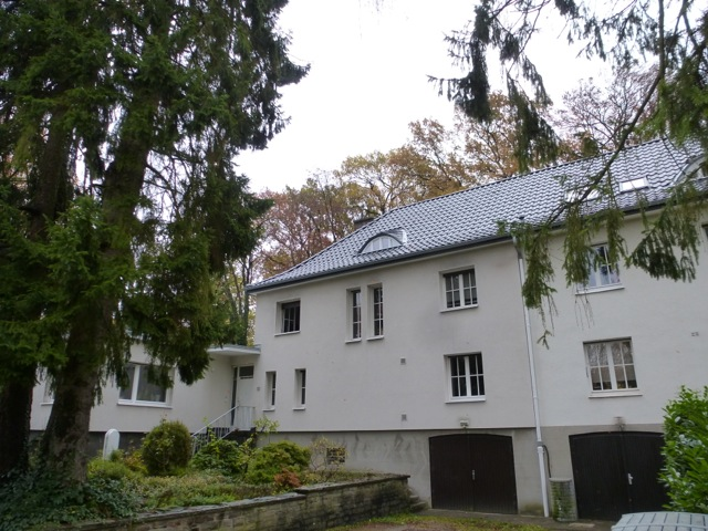 neueindeckung dach satteldach flachdach anbau doppelhaush lfte frankenforst architekt dipl. Black Bedroom Furniture Sets. Home Design Ideas