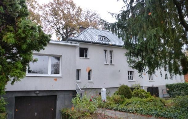 Neueindeckung Dach (Satteldach + Flachdach Anbau) Doppelhaushälfte Frankenforst