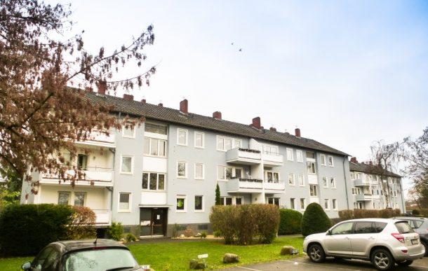 Fassadensanierung Wohnanlage Kalk